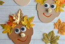 Herbstbasteln / Tolle Bastel- und Dekorationsideen für den Herbst.