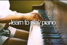 Bucket List / Before I die..