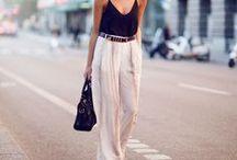 Black & White clothing