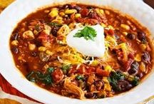 soups, stews, and chili / soups and chili to try