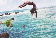 Summer lovin' / wind in my hair, sand between my toes