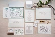 Wedding Invitations + Papergoods