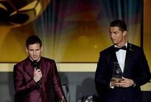 CR7 vs Messi / 2 best soccer players in the modern game....