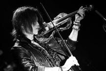 SUGIZO / Guitarist, violinist, vocalist. Luna Sea, X Japan, Juno Reactor. A father and activist.