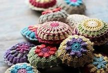 Crochet Mandalas / Beautiful crocheted projects similar to mandala artwork.