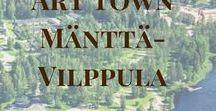 Art Town Mänttä-Vilppula / Traveling in the heart of Finland: sights, restaurants, events, hotels. Stay in Mänttä and Enjoy!