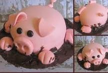 Oink-tastic Food Decor!