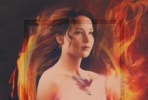 The girl on fire (; / She's a tribute,survivor,victor, sister,rebel, lover, daughter, hunter, wife, a girl on fire, volunteer, mocking jay, friend, star crossed lover, mentor, fighter, Katniss Everdeen is a symbol of hope for the rebellion. / by Kaylin Gamache