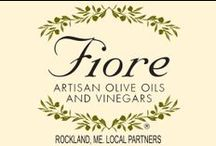 FIORE Midcoast Partners / FIORE Local Partners in the Midcoast, Maine area.  FIORE Artisan Olive Oils & Vinegars has chosen to partner with these select local fine restaurants and lodging establishments.