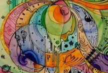 Zentangles, Designs and Doodles