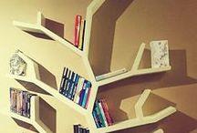 Regał drzewo / Na zdjęciach zrealizowany przezemnie projekt półki/regału w kształcie drzewa o wymiarach 210x150