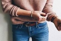 Fall & Winter Style / fall and winter style inspiration | f/w fashion + outfit ideas + style inspo + trends | minimal + neutrals + layers + cozy + chunky sweaters + leather jackets + boots + booties