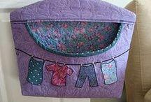 Ruhacsipesz tartó, clothespin bag