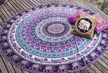 Mandala Variations / All mandalas in a variety of media.