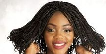 BRAIDED LACE FRONT WIG- micro braids, box braids, senegalese twists, ghana weave, kinky twists. / Braided Wigs- Fully Hand Braided Lace Wig. #braids #braidedwig #protectivestyles