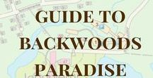 Guide to Backwood´s paradise / First time in Backwood´s paradise? These pins are here to help you.