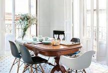 Kitchen & Dining Room Inspiration / Kitchen and dining room style inspiration | kitchen and dining area interior ideas + inspiration
