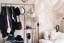 Wardrobe & Closet Inspiration / Wardrobe and walk-in closet style inspiration | clothing storage ideas + closet inspiration