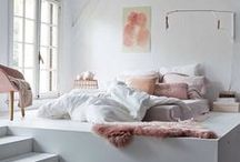 Bedroom Inspiration / Bedroom interior style inspiration | condo bed + house + apartment room space