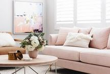 Living Room Inspiration / Living room space inspiration | condo + couch + living space ideas