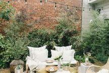 Patio & Terrace Inspiration / Patio + terrace + balcony inspiration | outdoor furniture inspo and ideas