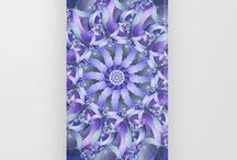 Mandala Phone Cases / iPhone and Samsung phone cases with my mandala designs.