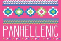 Sorority Style: Panhel/Greek / No matter the letter, Greeks do it better.  This board features everything from sorority apparel, to greek crafts, to quotes that inspire.