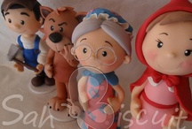 Polymerclay/fimo/fondant/pasta flexible/cold porcelain/biscuit/gum paste / by Atzinameyalli B. M.