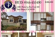 HUD flyers- April & May 2013 / Here are recent flyers for HUD properties in Southern California.  HUD properties are often great value and you can end up with a great home for little money.