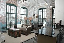 Loft Living / Lofts and spaces we love.
