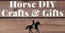 Horse DIY Crafts & Gifts / Equestrian DIY projects, crafts & gifts for horse lovers. Follow me and check out savvyhorsewoman.com for more!