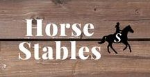 Horse Stables / Breathtaking horse stables and barns from around the world. Follow me and check out savvyhorsewoman.com for more!