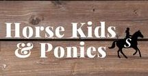 Horse Kids & Ponies / Kids, horses & ponies. Does it get any cuter? Follow me and check out savvyhorsewoman.com for more!