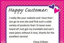 Customer Feedback / We love it when you share how our Fashion Solutions have helped you save the day! Send us an e-mail on info@secretfashionfixes.ie
