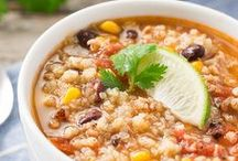 Soups / Hearty soups, stews and chilis that are sure to fill your belly.