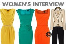 Women's Interview Outfits / Fashionable & Professional interview outfits