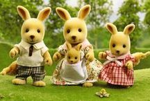 Sylvanian Families / An adorable range of animal characters, with beautifully detailed homes, furniture & accessories!! They live, work and play in the idyllic and wonderful land of Sylvania.