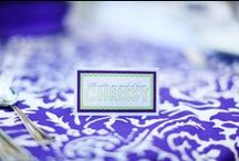 Wedding Table Place Cards / by Dogwood Blossom Stationery