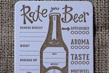 Beer Love / In real life we have a fondness for beer too, so maybe it's more than coincidence! Beer Love!