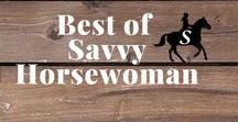 Savvy Horsewoman Blog | DIY Horse Care Tips | Equestrian Lifestyle / Popular posts from the Savvy Horsewoman blog. Follow me and check out savvyhorsewoman.com for more!