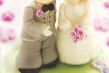Polymerclay/Wedding/Cold Porcelain/Porcelana Fría/Fimo/Fondant/Masa flexible/Biscuit/Pasta Francesa/Porcelaine Froide :B