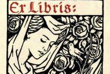 """Exlibris / """"de entre los libros de..."""", sello único que se coloca en los libros de cada persona (o institución) y que identifica a su dueño. Yo quiero tener mi propio """"ex-libris""""!!!"""