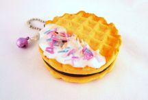 Polymerclay/Food/Cold porcelain/Biscuit/Porcelana fría/Fimo/Pasta flexible/Fondant/Porcelaine froide/Pasta francesa.