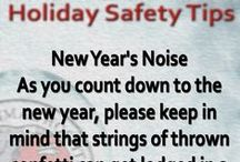 Holiday Safety Tips / Holiday Safety Tips