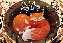f. ℱσx d'ℱɾαηɕεsɕα / Foxes, flying foxes (bats) and fire foxes (red pandas)  /\      /\                ͡°        ͡°                 ╲ᴥ╱