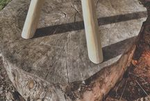 Green woodworking (mostly) / Make things with unseasoned (green) wood, using hand tools