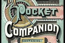 The Art of Words / Beautiful vintage fonts and typography