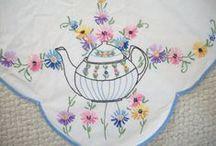 Embroidery, Crochet, Knitting