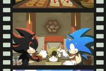Sonic the Hedgehog / My favorite Video game series of all time. Sonic the Hedgehog. With big grin he is cool, Sonic the Hedgehog Sonic which is me sonic oh sonic is amazing sonic he is the best game star of all time
