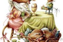 Ilustrações de Marjolein Bastin / Ilustrações de Marjolein Bastin salvas da net